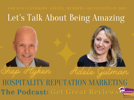 Podcast Conversation with Customer Experience Author Shep Hyken