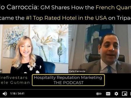 Carlo Carroccia, GM of the #1 Hotel in America on Tripadvisor