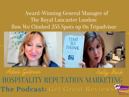 Podcast Interview: Sally Beck, General Manager of the Award Winning Royal Lancaster Hotel London