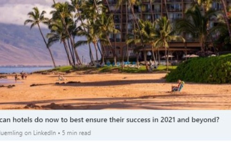 Great Reads: Optimizing Hotel Success in 2021