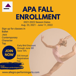 APA Fall Enrollment - Made with PosterMy