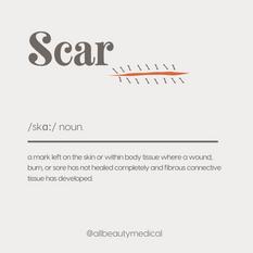 【Scar 疤痕】