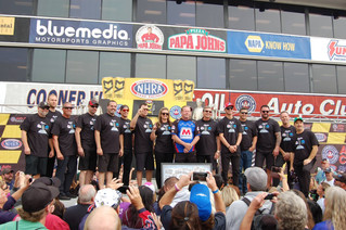 Allen Johnson Says Goodbye to Pro Stock with Emotional Tribute from Fellow Competitors
