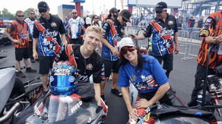 Team Liberty Racing NHRA Four-Wide Nationals Qualifying Report