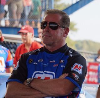 Allen Johnson No. 9 at AAA Insurance Midwest Nationals in Marathon Petroleum Dodge