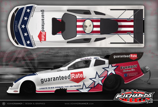Guaranteed Rate Sponsors Dave Richards in NHRA Nitro Funny Car Series