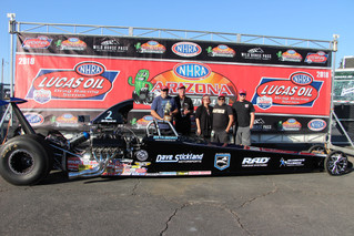 Division 6 Paul Nero Crowned Top Dragster Winner at NHRA Arizona Nationals