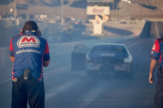 Marathon Petroleum's Allen Johnson Races to Quarterfinals in Las Vegas