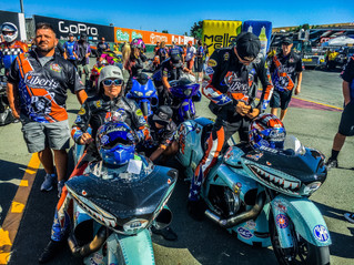 Team Liberty Racing Qualifying Report: Sonoma Nationals