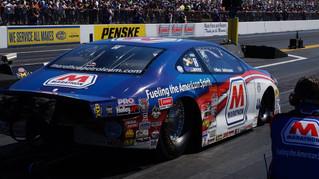 In His 500th Pro Stock Race, Allen Johnson Slingshots Marathon Petroleum Dodge Dart into Semifinal R