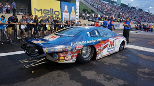 Allen Johnson Ready to Defend King of the Mountain Legacy on Raceday at Mopar Mile High Nationals