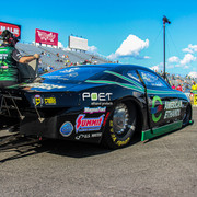 Deric Kramer Drives to Fifth Career No. 1 Qualifier in American Ethanol Camaro