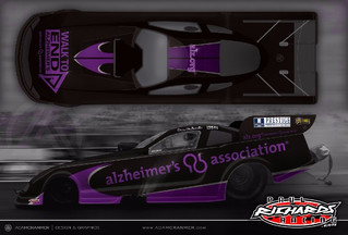 DAVE RICHARDS TO RACE FIRST U.S. NATIONALS IN ALZHEIMER'S ASSOCIATION FUNNY CAR