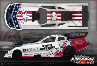 Dave Richards Keyed Up for 10 race 2020 NHRA Schedule, Debuting Patriotic Theme in Gainesville