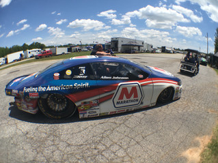 Allen Johnson Propels Marathon Petroleum Dodge to Semifinal Round at NHRA Southern Nationals