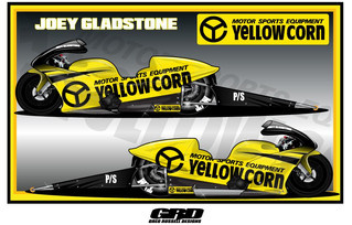 Yellow Corn Announces 2018 Sponsorship with Joey Gladstone