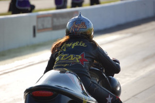 Angelle Sampey Rockets To The Top Spot At The NHRA Southern Nationals