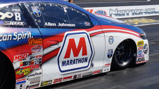 Allen Johnson Takes on Raceday at Dodge NHRA Nationals in 500th Pro Stock Race of Career