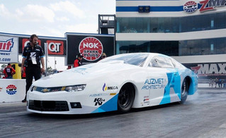 Shane Tucker Powers Auzmet Architectural Camaro to No. 15 at NHRA Four-Wide Nationals