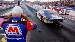 Marathon Petroleum's Allen Johnson Formulating Strategy to Defend Title at Auto Club NHRA Finals