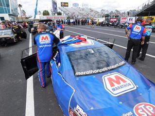 Marathon Petroleum's Allen Johnson Enters Gatornationals Raceday in Top Half