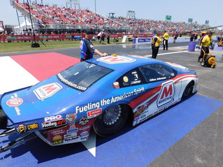 Marathon Petroleum's Allen Johnson Saved Best for Last in Qualifying, Positive for Sunday