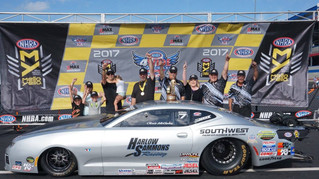 Chris McGaha Leads High Performance Lubricants Clients at NHRA Four-Wide Nationals