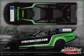 Strutmasters.com Joins as Sponsor for Dave Richards at the Upcoming Carolina Nationals