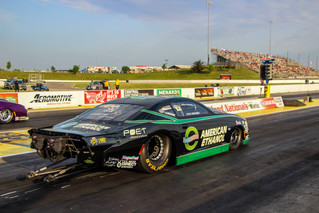 Deric Kramer Leads the Pack in Pro Stock Qualifying in American Ethanol Chevrolet Camaro at NHRA Hea