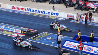 Team Liberty Racing Qualifying Report: Summit Racing Equipment NHRA Nationals