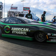 Deric Kramer Boosts American Ethanol Chevrolet Camaro to Second No. 1 Qualifier of 2020