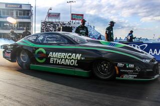 Deric Kramer Boosts American Ethanol Chevrolet Camaro to Second No. 1 Qualifier of 2020
