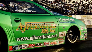 Aaron Strong Ready for Final Race of Season at Auto Club NHRA Finals