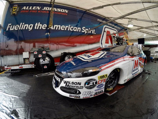 Allen Johnson Drives Marathon Petroleum Corporation Dart to No. 13 at Winternationals