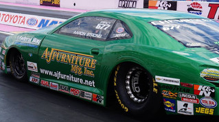 Pro Stock's Aaron Strong Heads to Sponsor's Home Race for Season Finale Event
