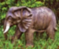 Standing Elephant - Bronze.png