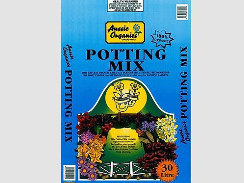 Aussie Organics Potting Mix - 30L