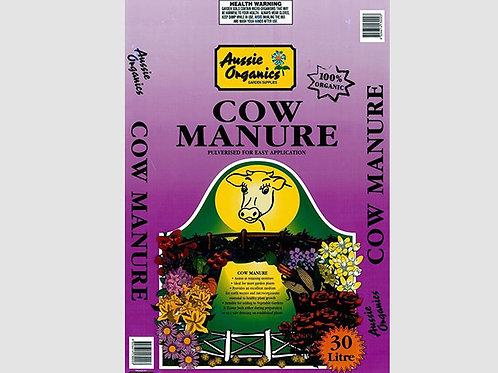 Aussie Organics Cow Manure - 30L