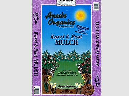 Aussie Organics Karri & Peat Mulch - 30L