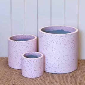 Terrazzo Tube Pot