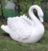 Swan Planter - White.png