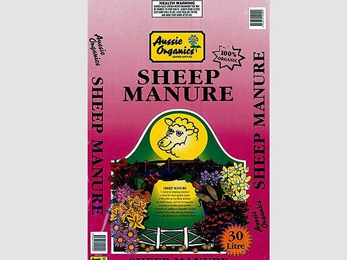 Aussie Organics Sheep Manure - 30L