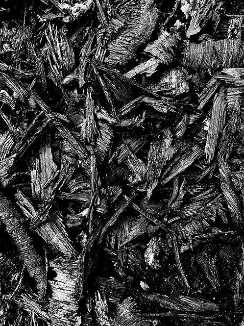 Black Rubber Mulch - 12.5kg