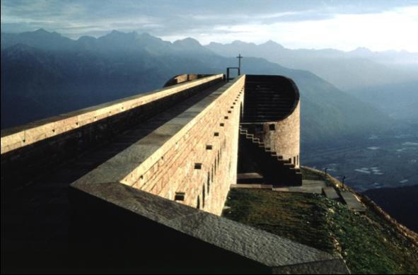 Eglise dans les Alpes Suisses, Architect