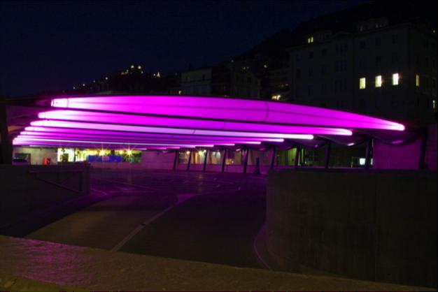 Tensairity - Garage Parc Montreux Station, 2004 - Architecte Rodolf Luscher, Lausanne 8