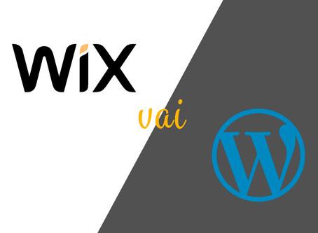 WIX nettisivualustana (Wix vs. Wordpress)