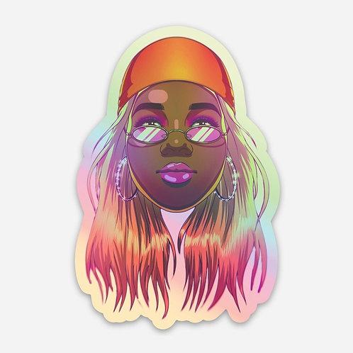 Aria Lanelle Holo Sticker
