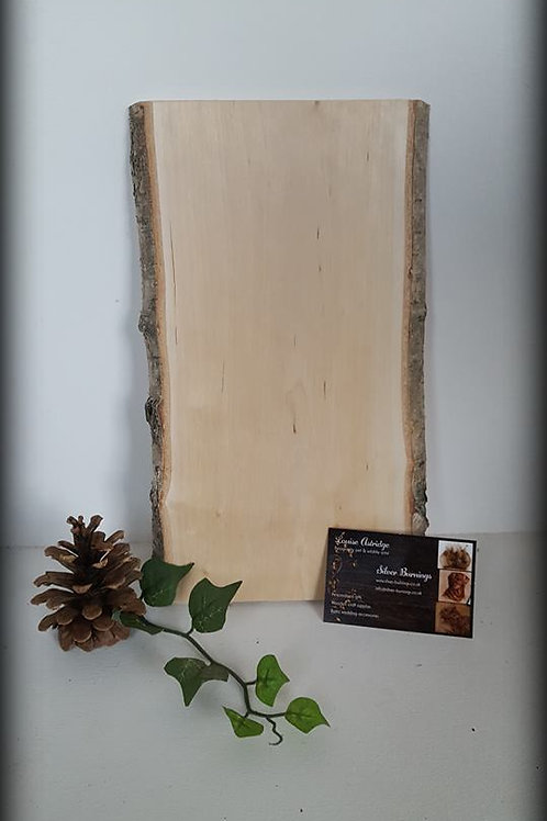 Silver Birch Boards with Bark