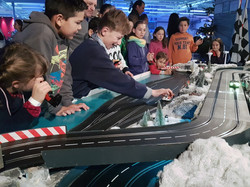 Familienspaß Carrerabahn Winter