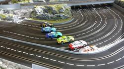 Carrerabahn für 6 Fahrer